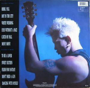 Billy Idol: Idol Songs - 11 Of The Best (LP) - Bild 2