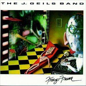 The J. Geils Band: Freeze Frame - Cover