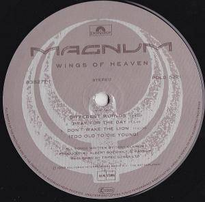 Magnum: Wings Of Heaven (LP) - Bild 4