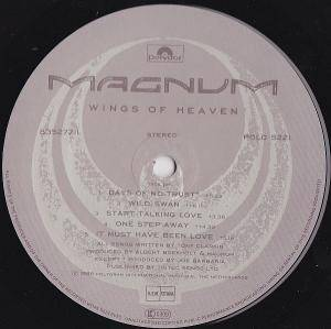 Magnum: Wings Of Heaven (LP) - Bild 5