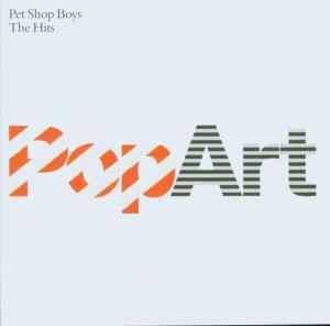 Pet Shop Boys: PopArt - The Hits - Cover