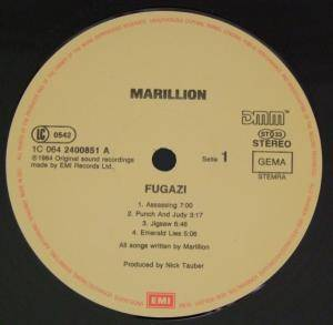 Marillion: Fugazi (LP) - Bild 5