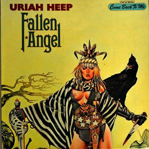 Uriah Heep: Fallen Angel - Cover
