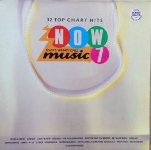 Cover - Art Of Noise With Max Headroom, The: Now That's What I Call Music! 07 [UK Series]