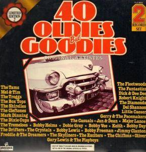 Cover - Cleftones, The: 40 Oldies But Goodies