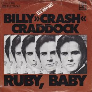 Billy Crash Craddock: Ruby, Baby - Cover