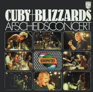 Cuby + Blizzards: Afscheidsconcert - Cover