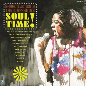 Cover - Sharon Jones  & The Dap-Kings: Soul Time!