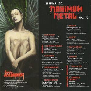 Metal Hammer - Maximum Metal Vol. 170 (CD) - Bild 2