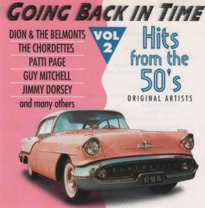Cover - Cathy Carr: Going Back In Time - Hits From The 50's Vol 2