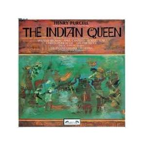 Cover - Henry Purcell: Indian Queen, The