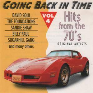 Going Back In Time - Hits From The 70's Vol 4 - Cover