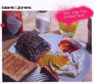 Blank & Jones: Eat Raw For Breakfast - Cover