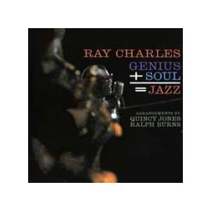Ray Charles: Genius + Soul = Jazz - Cover