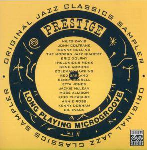Prestige Original Jazz Classics Sampler - Cover