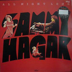 Sammy Hagar: All Night Long - Cover