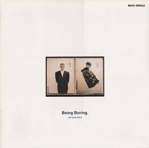 Pet Shop Boys: Being Boring - Cover