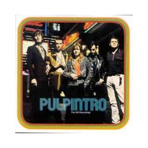 Pulp: Intro - The Gift Recordings - Cover