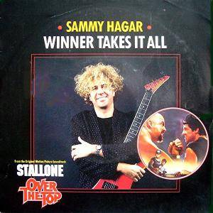 Sammy Hagar: Winner Takes It All - Cover