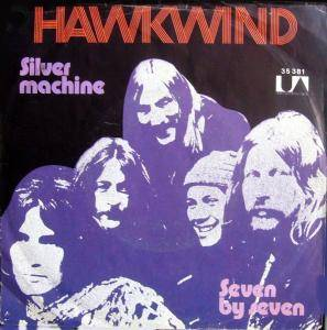 Hawkwind: Silver Machine - Cover