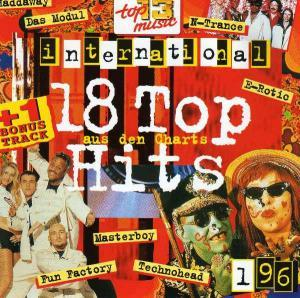 18 Top Hits Aus Den Charts - 1/96 - Cover