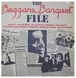 Cover - Raybeats, The: Beggars Banquet File, The