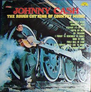Johnny Cash: Rough Cut King Of Country Music, The - Cover