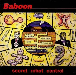 Cover - Baboon: Secret Robot Control