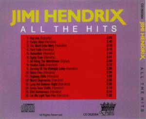 Jimi Hendrix: All The Hits (CD) - Bild 3