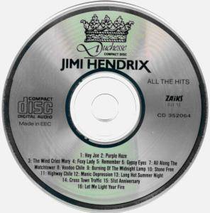 Jimi Hendrix: All The Hits (CD) - Bild 4