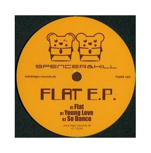 Cover - Spencer & Hill: Flat E.P.