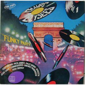 Cover - Jean Carn: Champs Elysees - Vol. 1 | Funky Party