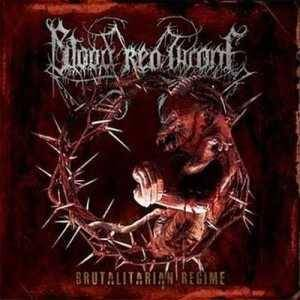 Cover - Blood Red Throne: Brutalitarian Regime