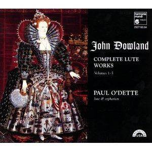 Cover - John Dowland: Complete Lute Works, Volumes 1-5