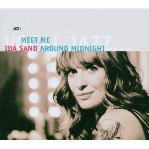 Cover - Ida Sand: Meet Me Around Midnight