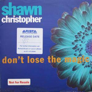 Cover - Shawn Christopher: Don't Lose The Magic