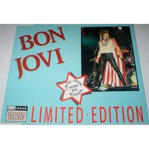 Bon Jovi: Interview Picture Disc - Cover