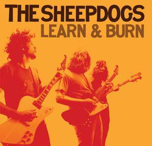 The Sheepdogs: Learn & Burn - Cover