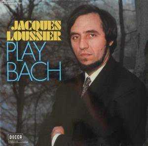 Jacques Loussier Trio: Play Bach - Cover
