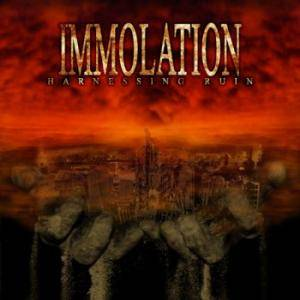 Immolation: Harnessing Ruin - Cover