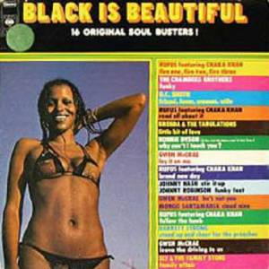 Cover - Barrett Strong: Black Is Beautiful - 16 Original Soul Busters !