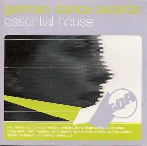 Cover - Tonka: German Dance Awards - Essential House