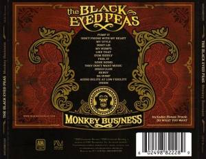 The Black Eyed Peas: Monkey Business (CD) - Bild 2