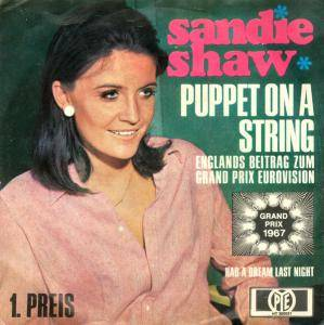 Sandie Shaw: Puppet On A String - Cover