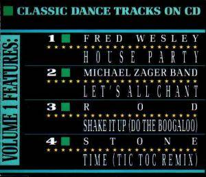 Cover - Fred Wesley: Classic Dance Tracks On CD Vol. I