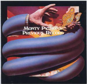 Cover - Monty Python: Monty Python's Previous Record