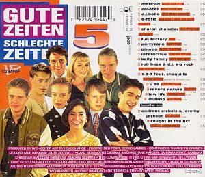 Gute Zeiten Schlechte Zeiten Vol 5 Cd 1995