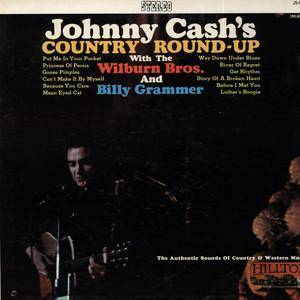 Cover - Billy Grammer: Johnny Cash's Country Round-Up