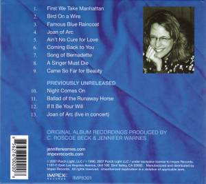 Jennifer Warnes: Famous Blue Raincoat (CD) - Bild 2