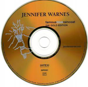 Jennifer Warnes: Famous Blue Raincoat (CD) - Bild 3
